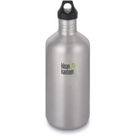 Klean Kanteen Classic Bottle Loop Cap 1900ml brushed stainless